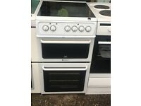 HOTPOINT CREDA 50CM CEROMIC TOP ELECTRIC COOKER