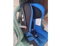 Excellent condition clean car seat & high chair
