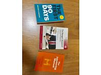 3 x Managers Self Help Books for sale