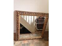 Gold bespoke gilt Frame mirror(SALE)