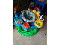 Baby playing stand ring good condition toys