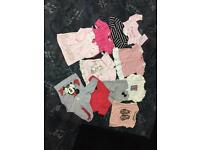 3/6 months old baby girls clothes (must see all the pictures)