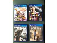 Watchdogs - Little Big Planet 3 - Brothers: A Tale of Two Sons - FIFA 14 - PS4 Games