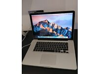 "Apple MacBook Pro i7 2.2GHz 15"" Early 2011, 8GB RAM, 1TB HDD"