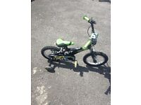 Ben 10 14 inch kids bike
