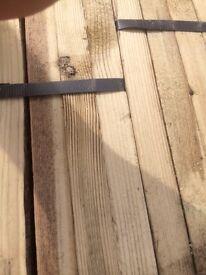 Roof battens 2x1 wood