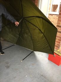 Fishing umbrella tent