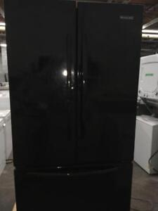 97- Frigo Réfrigérateur Noir KITCHEN AID 36'' Refrigerator Black Fridge