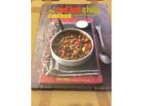 The Red Hot Chilli Cookbook - Unwanted Xmas Gift, Brand New & Unused