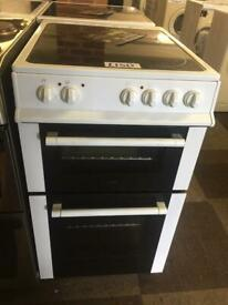 🔥🔥 LOGIK 50CM ELECTRIC COOKER WHITE WITH GUARANTEE 🔥🔥