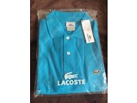 Brand new Men's LaCoste Polo Tops