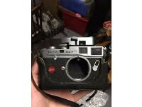 Leica M4-P Rangefinder Film Camera Body Only + Leica Meter Mr