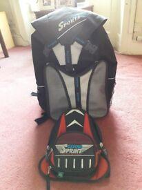 Oxford Rucksack and Tank Bag