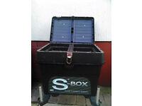Sundridge fishing seat box.