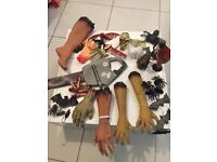 Halloween props decoration party body parts