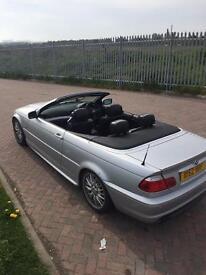 Bmw 320 ci convertible £1500 Ono