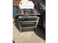 Gas intergrated cooker