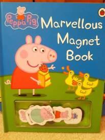Peppa Pig Magnetic Book