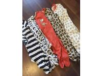 0-3 month neutral sleepsuits