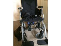 Power assisted wheel chair