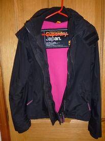 Superdry Jacket, Black, Ladies Small