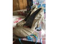 Brand new irregular choice baby love size 41