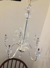John Lewis 5 light chandelier