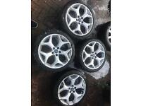 "Genuine Ford Focus st 18"" alloys with tyre"