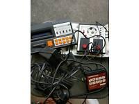 Grandstand retro gaming pieces
