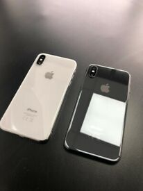 Apple iPhone X 64gb unlocked receipt and warranty provided