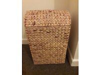 laundry bin / basket - woven style