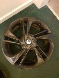 """Vauxhall Corsa E alloys 17"""" 4stud"""