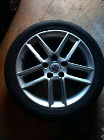 "Seat exeo 17"" wheels and tyres"