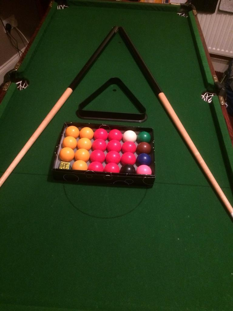 Riley Mini Pool Table Ft Ins Long In Sunderland Tyne And Wear - How long is a pool table
