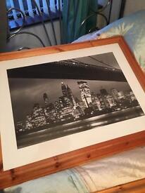 Pine framed prints seven in total including jack vetriano