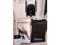 HandySitt Child's Portable /Travel Booster Seat / High Chair by Minui (now owned by Stokke)