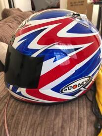 SUOMY Motorcycle Helmet Size Medium