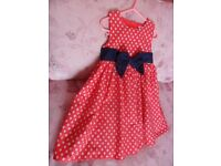 Blue zoo party dress age 2-3 years excellent condition