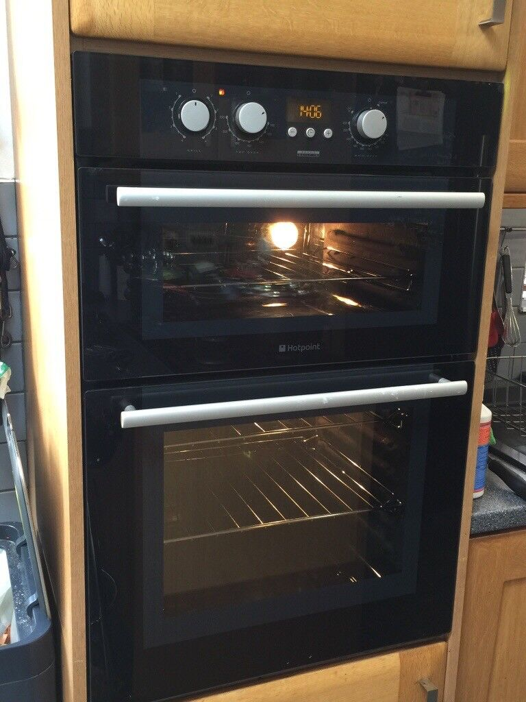 Intergrated Double Oven With Grill And Microwave Oven Combination