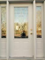 Exterior door for sale with sidelights