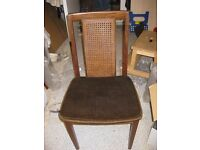 Wanted: G plan dining chairs 3 or 4