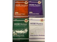 GCSE OCR science revision guides £4