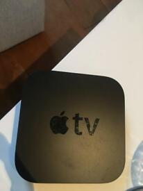 Apple TV 3rd Gen. With Remote and Cables- Good Condition