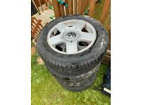 VW alloy wheels for sale !