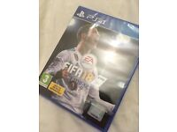 Brand new unopened FIFA 18 PS4