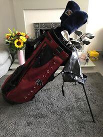 Nike Golf Bag and Clubs