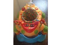 Colourful and Musical Baby Walker