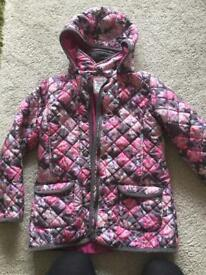 Girls coat 8-9 gorgeous fab condition