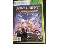 Minecraft story mode x box 360