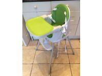 Baby/Toddler high chair- very portable, easy to clean and in fantastic condition